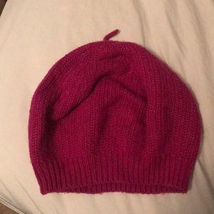 Pink coach hat
